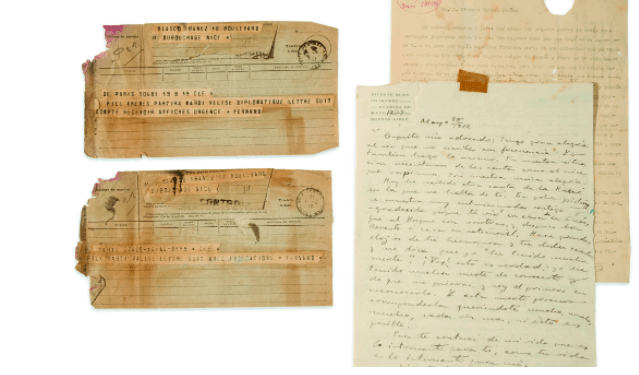 Documentos de Blasco Ibáñez